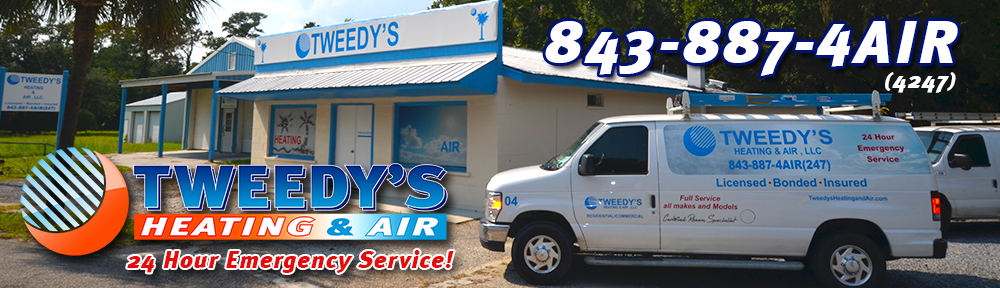 Tweedy's Heating & Air | Charleston SC, Pawleys Island SC, Garden City SC, Surfside Beach SC , Georgetown SC